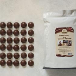 Шоколад в каплях