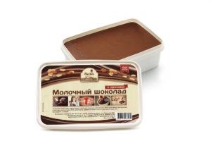Молочный шоколад с орехами 950 г Mr.Cho