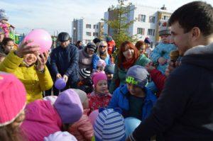 Дети ЖК Царево на празднике шоколада