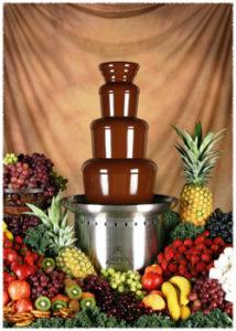 шоколад для фонтанов