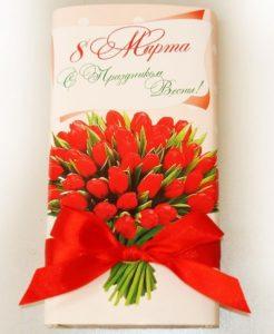 Натуральный шоколад детям в праздник мам