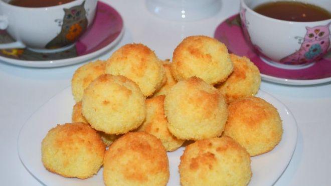 готовое кокосовое печенье