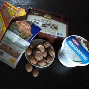 шоколадные шарики ингредиенты