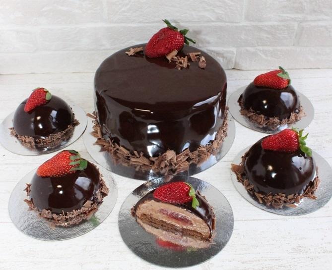 Шоколадная глазурь из темного шоколада