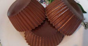 порционное шоколадное желе