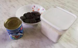 домашние шоколадные конфеты Баунти, ингредиенты
