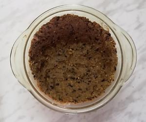 корж для шоколадного торта-суфле