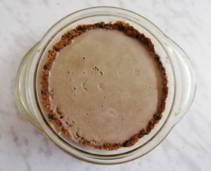шоколадный торт-суфле готов
