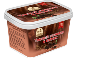 Темный шоколад в каплях 200 г в герметичной пластиковой коробке