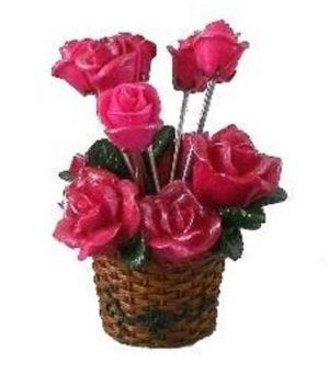 """набор для фондю """"Розы"""""""