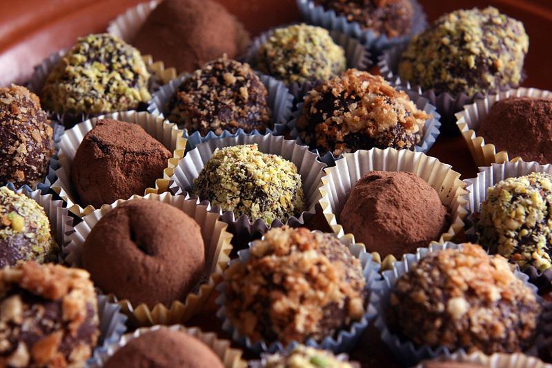 Шоколадные конфеты своими руками рецепты с фото